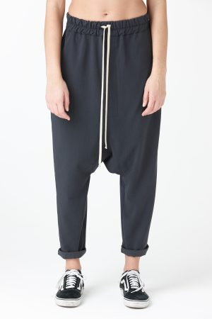 pantalone cady antracite donna amcouture