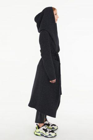 kimono nero donna amcouture