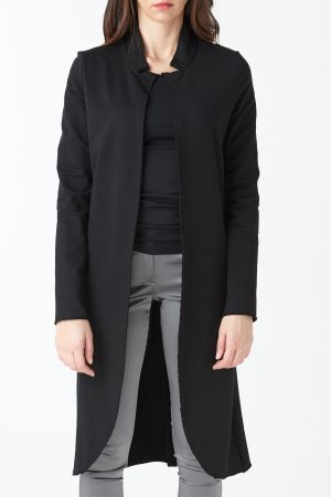 long black jacket woman amcouture