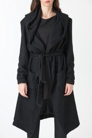 Kimono cady nero donna amcouture
