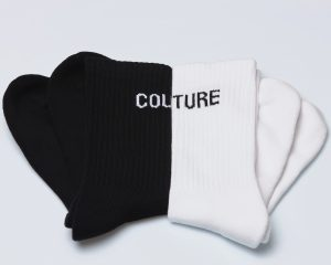 Socks Logo cotone amcouture