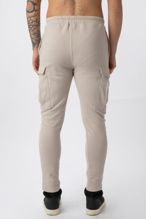 pantalone cargo beige amcouture