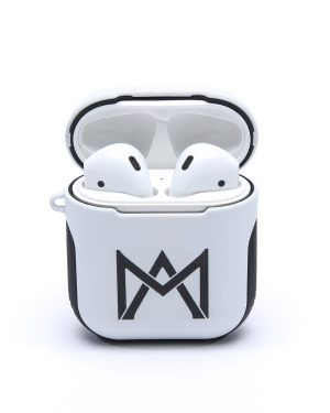 porta air pods bianco amcouture