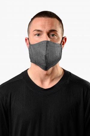 A.M. MASK JEANS GRIGIO AM COUTURE