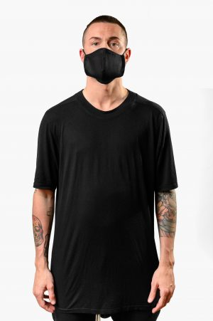 A.M. MASK JEANS NERO AM COUTURE